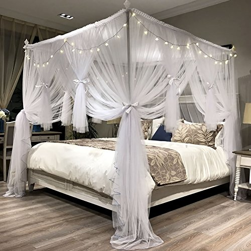 canopy bed fabric
