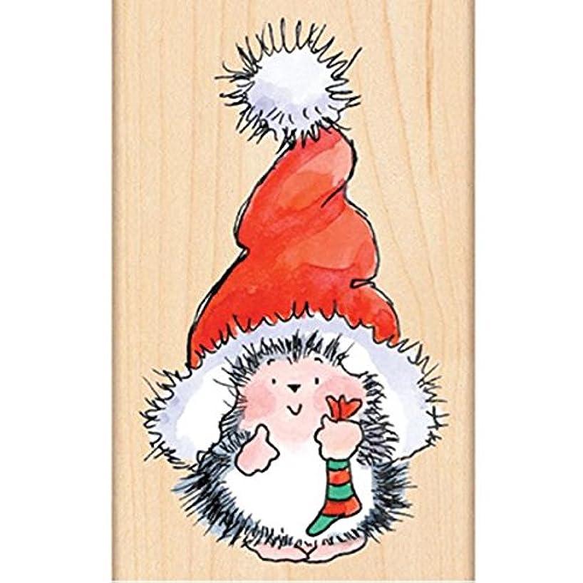 Penny Black 4283K Santa's Hat Wood Mounted Rubber Stamp