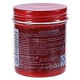 Cera de pomada para el cabello, diseño mate Pomada para el cabello, natural 100 ml Práctico sin estimulación Reparación segura del cabello en el(Matte white)
