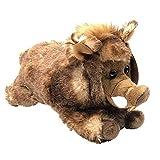 JuniorToys Wildes Plüschtier - Extra kuscheliges Stofftier (Wildschwein)