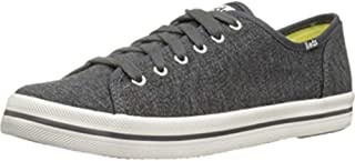 Keds Womens Kickstart Textured Jersey Fabric Low Top Lace Up Fashion Sneakers US