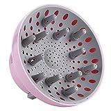 Hairizone difusor Universal para secadores de pelo con boquilla de diámetro 4,3-6,6 cm, para pelo rizado u ondulado, seca y gana el máximo volumen sin encrespamiento, Rosa