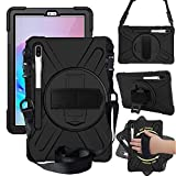 CWNOTBHY Galaxy Tab S6 10.5 Case, Heavy Duty Shockproof...