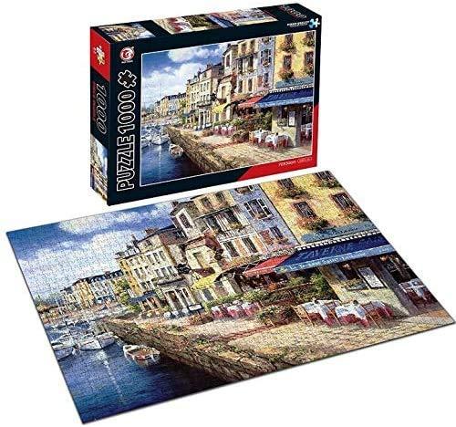 BeiLan Puzzle 1000 Pezzi Città idilliaca Puzzle per Adulti Ragazzi