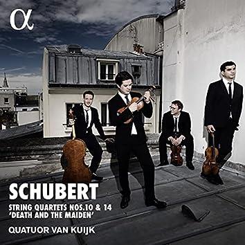 "Schubert: Quartets Nos. 10 & 14 ""Death and the Maiden"""