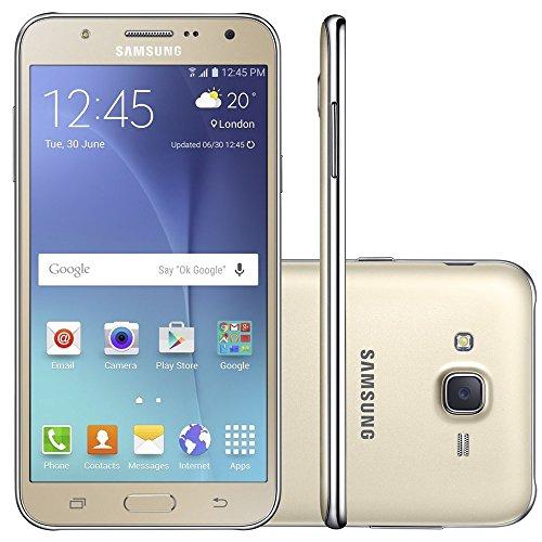 Samsung - Smartphone Galaxy J7 Duos J700M, Tela 5.5'', 16GB, Dourado