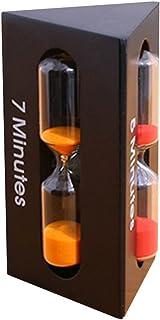 GETIT72/Sablier Rose 5/Couleur 2//3//5//10/Minutes Mini Verre de Sable Sablier Sablier minuterie Horloge Home Decor 2 Minutes