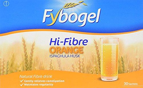 Fybogel Hi-Fibre Orange the best over the counter laxative