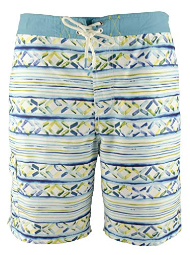 Tommy Bahama Baja Cecina Stripe 9-Inch Board Shorts (X-Large)