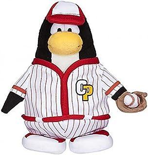 Club Penguin Series 7 Baseball Player 6.5-Inch Plush Figure