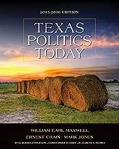 Texas Politics Today 2015-2016 Edition (Book Only)