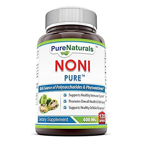 Pure Naturals Noni - 400mg Capsules - 120 Capsules