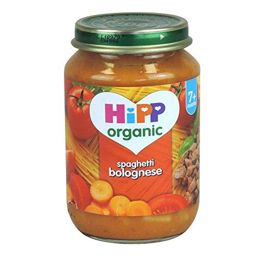 Hipp biologique Spaghetti Bolognese 7mois + (190g) - Paquet de 6