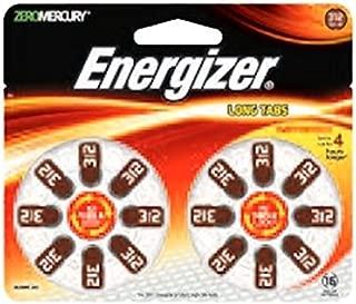 Energizer 10288 - 312 1.4 volt Zero Mercury Hearing Aid Battery (16 pack) (AZ312DP16)