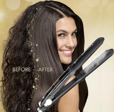 Professional Steam Ceramic Hair Straightener Flat Iron...