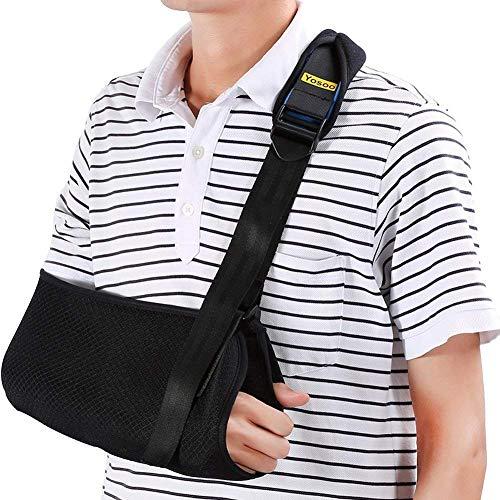 Fascia di supporto per braccio reggibraccio tutore per Sling brache di spalla - Rete Ergonomica, leggera e traspirante,...