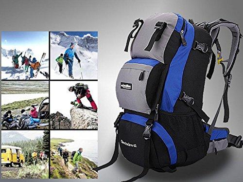 Professional prend en charge, sac à dos sac à dos outdoor Kit 42L l voyage d'escalade , old blue