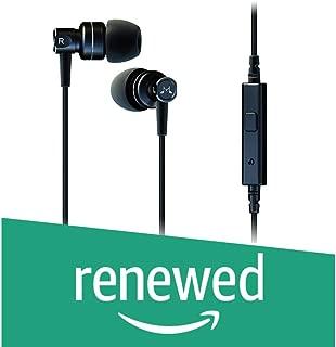 (Renewed) SoundMagic MP21 Noise Isolation in-Ear Headphone with Mic (Black)