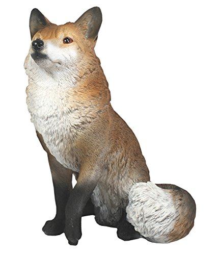 colourliving Dekofigur Fuchs Freddy sitzend Tier Garten Dekoration Garten