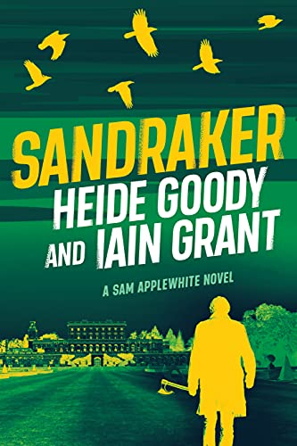 Front cover for the book Sandraker (Sam Applewhite Book 3) by Heide Goody and Iain Grant
