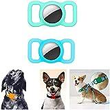 Funda protectora de silicona para mascotas para Apple Airtag, localizador anti-perdida, buscador GPS para perros y gatos, para collar, para collar de mascotas, niños, bolsa para ancianos (A1)