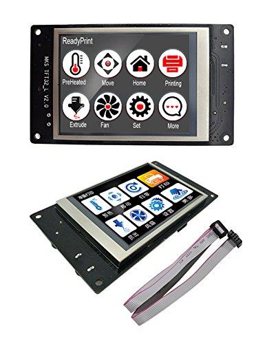 Stampante 3D MKS TFT32 V3.0 Touch Screen LCD Splash Display Smart Controller Monitor TFT RepRap Supporto LCD creen WIFI/BT per stampante 3D Compatibile con USB (MKS TFT32)