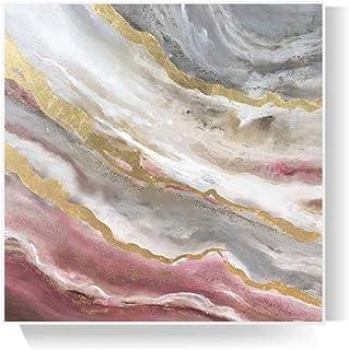 Pinturas Al Óleo Sobre Lienzo 100% Dibujado A Mano,Arte Que Fluye Colorido Hermoso Abstracto,Estilo De Pintura 3D Gran Paleta Cuchillo Pinturas Obra De Arte Colgante Hecho A Mano Arte De La Pare