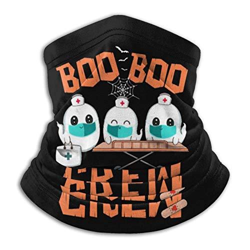 Overlooked Shop Pasamontañas Boo Boo Crew GH-osts Doctor Paramédico EMT Nurse. Pañuelo de pasamontañas Multifuncional para Exteriores