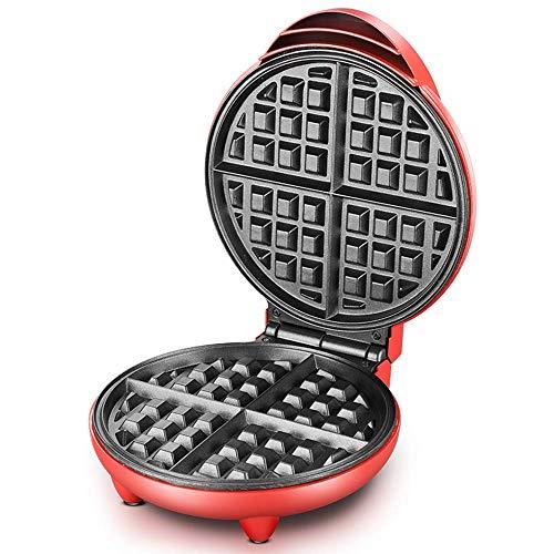 Premium-8-Zoll-Mini-Waffeleisen, Antihaft-Seite, Leicht zu reinigen, Kartoffelpuffer und andere Frühstücke, Geeignet für Wohnheime