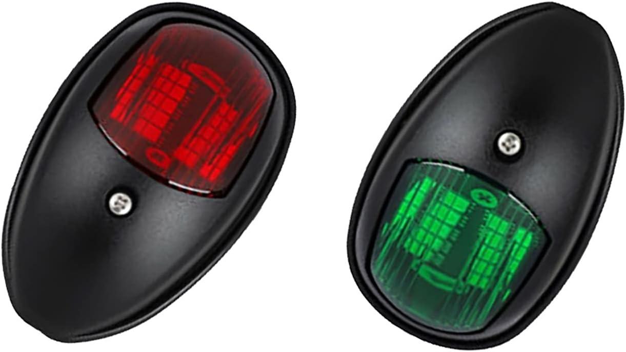 MINGMIN-DZ Boat Navigation Lights Light 2Pcs Our shop most popular 12V LED Industry No. 1