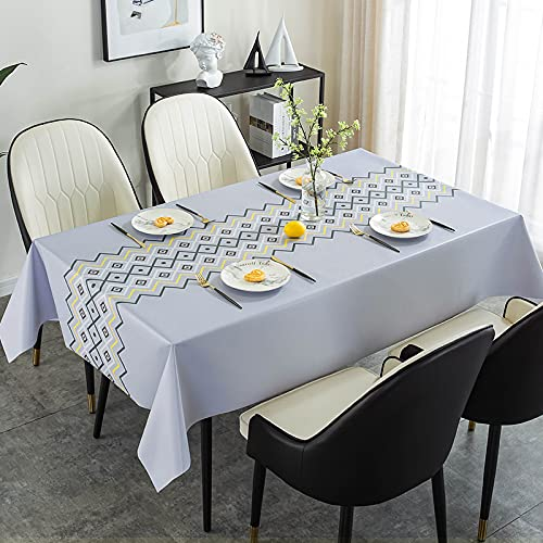 sans_marque Mantel de mesa, cubierta de mantel lavable, utilizado para comedor de cocina, decoración de mesa de cocina60* 120cm
