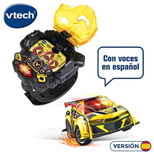 VTECH- Turbo Force Racer geel mini auto afstandsbediening oplaadbaar kleur (3480-197622)