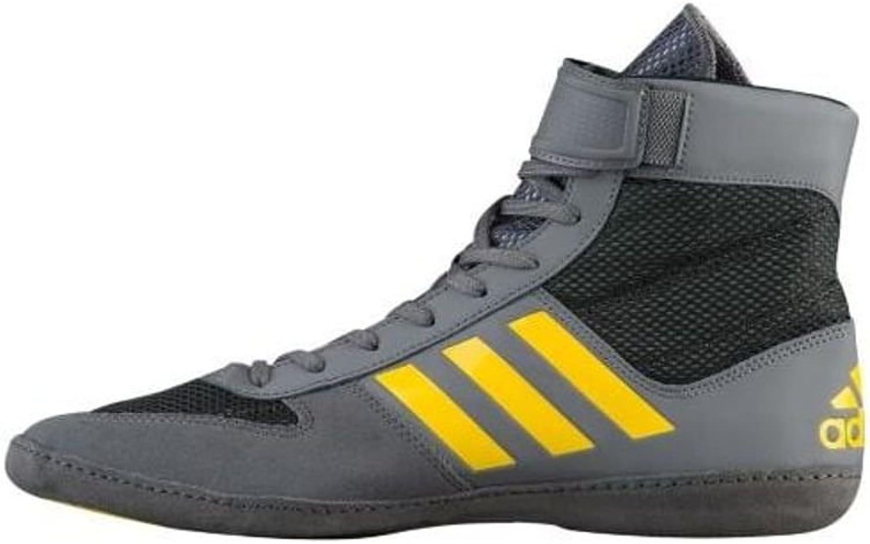 Adidas Men's Combat Speed.5, Grey EQT Yellow Utility Black, 11.5 M US