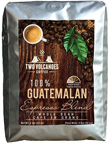 Two Volcanoes Espresso Coffee Beans