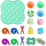 Fidget Toy Pack 17 piezas kit antiestrés y antiansiedad juguete juguete para niños autismo