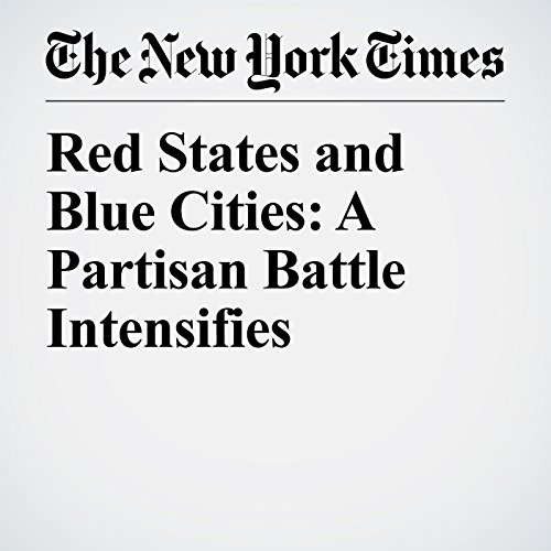 Red States and Blue Cities: A Partisan Battle Intensifies copertina