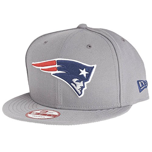 New Era 9Fifty Snapback Cap - New England Patriots Gris