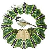 D139–10Iron Stop Designer-Windspiel Chickadee, 25,4cm