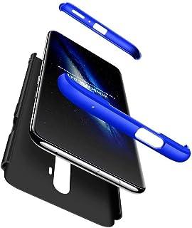 TiHen カバー Meizu M3 Note ケース薄型 360°フルカバー + 強化ガラス ィルム (2枚) PC ハードケース 耐衝撃 指紋防止 カバー おしゃれ かっこいい ケース 互換 Meizu M3 Note (ブラックブルー)