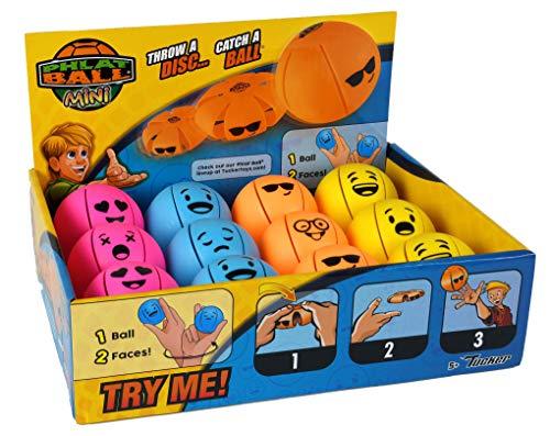 Phlat Ball-Mini Smiley Es un Disco y es una Bola, Color aléaoire (31785)