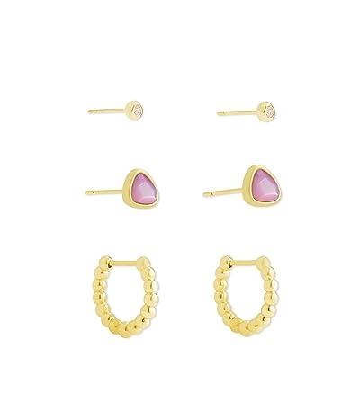 Kendra Scott Ivy Hug Stud Earrings Set of 3