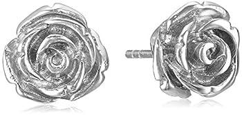 Best silver rose earrings Reviews
