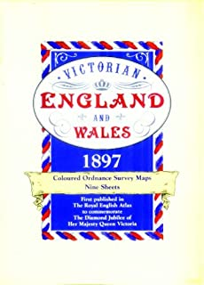 Victorian Maps, England and Wales 1897: Complete Set