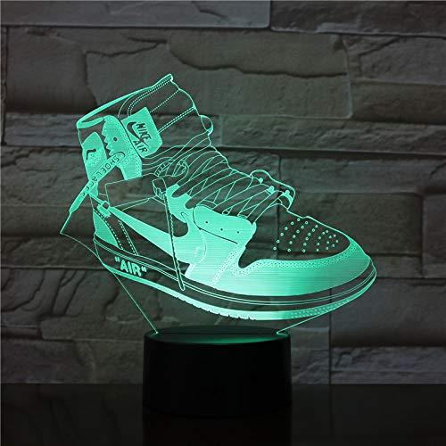 Zapatillas de Deporte Zapatillas de Deporte de acrílico luz Nocturna, Control táctil...