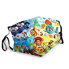 Material: 100% Polyester (Polyester) - Soft And Breathable. Pattern: Using Advanced Printing Technology And Environmentally Friendly Materials, It Is Safe And Beautiful. Use: Washable, Reusable, Easy To Care For Durability. Function: Dust Proof, Soft...