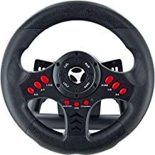 Best Subsonic SA5426 Racing Wheel Universal with Pedals for Playstation 4, PS4 Slim, PS4 Pro, Xbox One, Xbox One S, PS3 Review