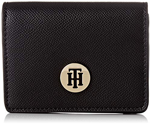 Tommy Hilfiger Damen Honey Cc Holder Geldbörse, Schwarz (Black), 1x1x1 cm