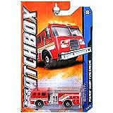 2011 MATCHBOX PIERCE DASH FIRE TRUCK 28/120 8...