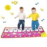 musicalmatte,xhforever 100x36 cm Multifunktions Baby Spielen Kriechende Matte Touch Typ Elektronischen Klaviermusik Spiel Matten Tierstimmen Singt Spielzeug