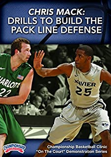Championship Productions Chris Mack: Drills to Build The Pack Line Defense DVD